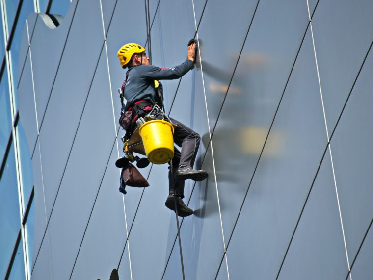 High-Level Window Cleaning
